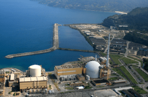 Angra Nuclear Power Plant in Angra dos Reis, Rio de Janeiro State, photo by Electronuclear.
