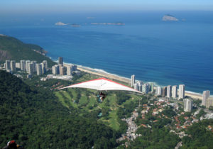 Nothing beats the thrill or view quality of a hand glider. Rio de Janeiro, Brazil, News