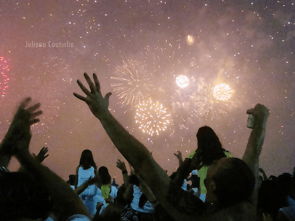 New Year's Eve Reveillon Party on Copacabana Beach to welcome 2011
