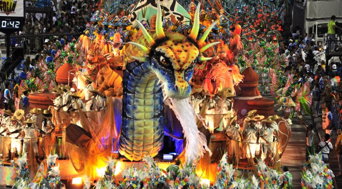 Inocentes de Belford Roo secured victory in Carnival 2012 with their impressive performance, Rio de Janeiro, Brazil, News.