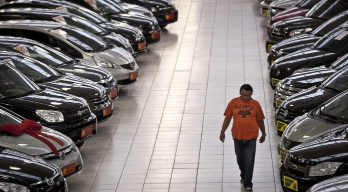Car sales in Brazil, photo by Marcelo Camargo/ABr.