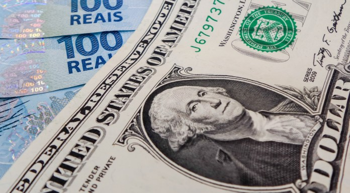 The foreign exchange rate in Brazil suffered strong volatility during 2018, with the US dollar ending the year with a 16.9 percent appreciation