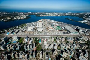 Part of the Olympic Park in Barra da Tijuca will be open to the public on weekends and holidays, photo by Miriam Jeske/Portal Brasil 2016. Brazil, Brazil News, Rio de Janeiro, Olympic Park, Barra da Tijuca, Rio 2016 Olympic Games
