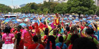 Carnival bloc in Rio de Janeiro attracts thousands,,