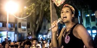 Marielle Franco speaking at a campaign rally in Rio de Janeiro, Brazil, Brazil News