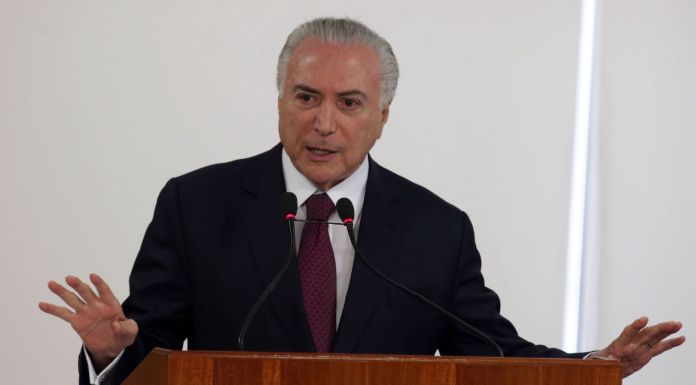 Brazil,President Michel Temer is scheduled to meet with U.S. VP Mike Pence on Tuesday