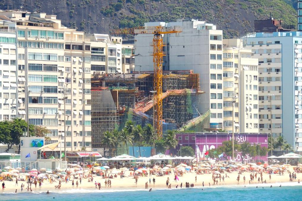 Construction on Rio's Museum of Image and Sound to Restart, Copacabana, Rio de Janeiro, Brazil, Brazil News