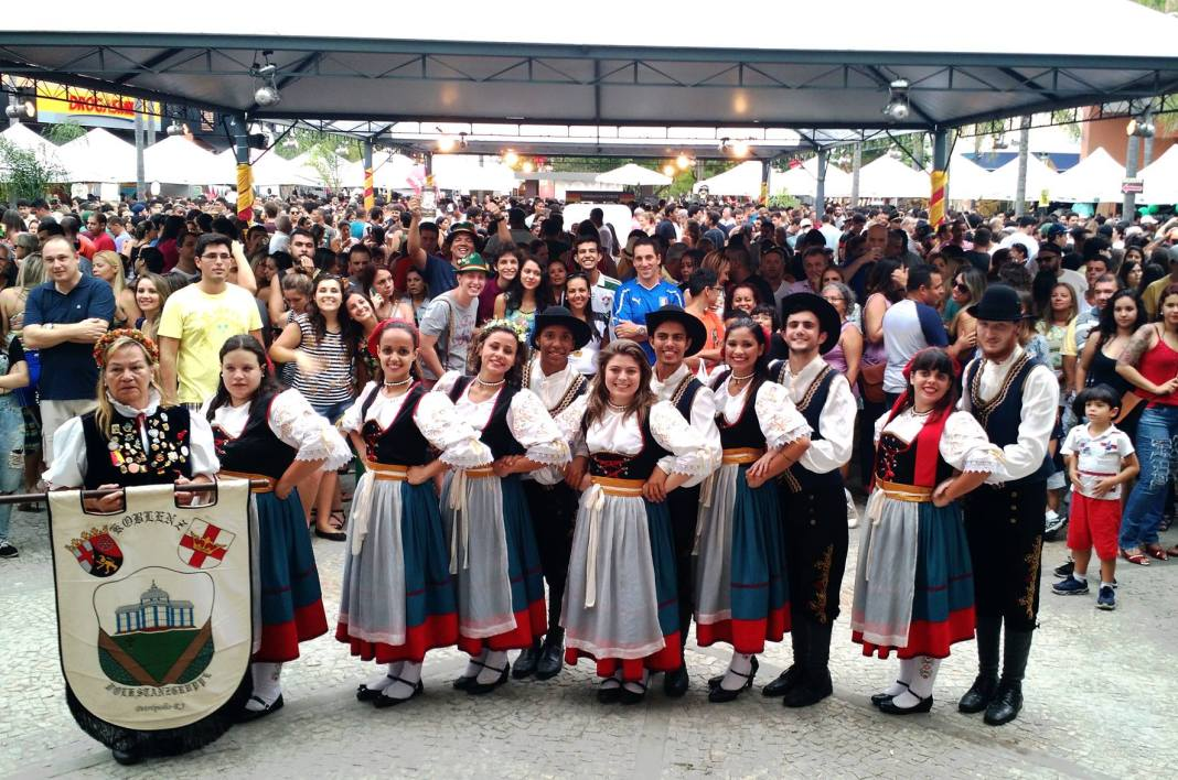 At Downtown Shopping Mall's Oktoberfest celebrations, there will be special performances by Rheinland Pfalz, who will lead both the traditional German dance and a beer-drinking competition, Rio de Janeiro, Brazil, Brazil News,