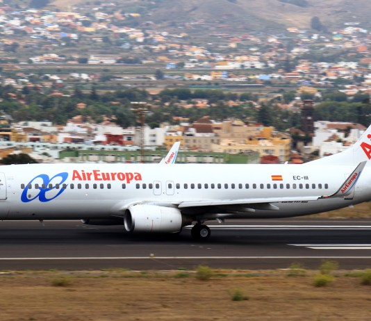 Spanish airline company, AirEuropa, seeks to fly domestic routes in Brazil,
