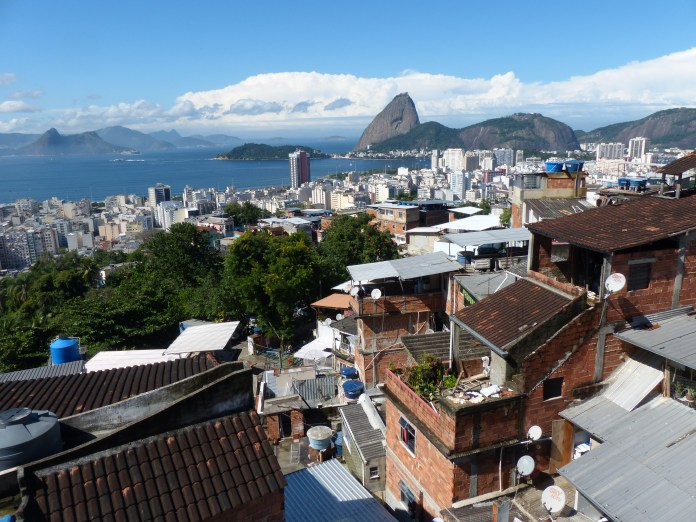 """I then glanced at the breathtaking view of Sugarloaf and Guanabara Bay that has greeted me every morning for 5 years. What beautiful """"bagunça"""" this all is, I thought to my self."""