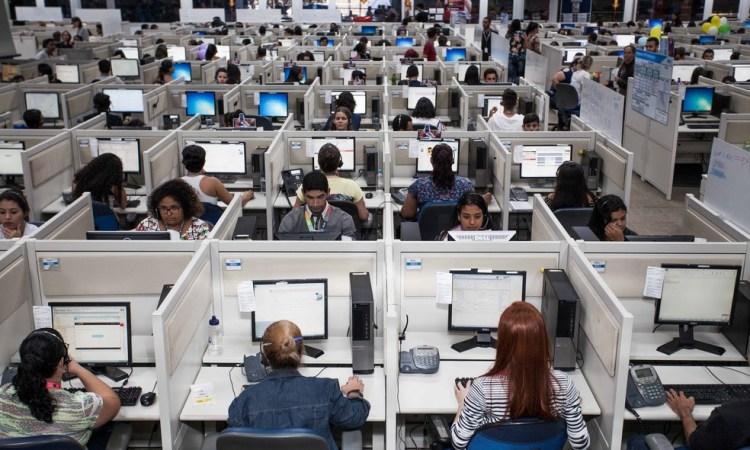 Operador de Telemarketing,Copeiro - R$ 1.300,00 - Ter boa fluência verbal, ser dinâmico - Rio de Janeiro