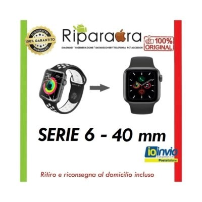 riparazione apple watch 4 40mm