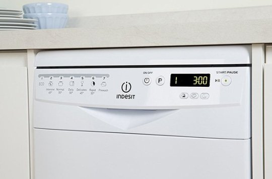 autotest lavastoviglie indesit