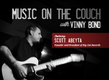 Rip Cat Records - On the Couch with Vinny Bond Banner