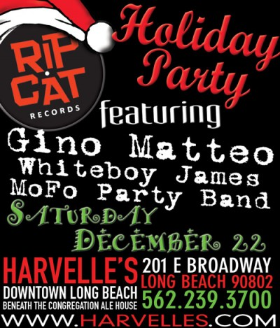 Rip Cat Records Holiday Party 2012