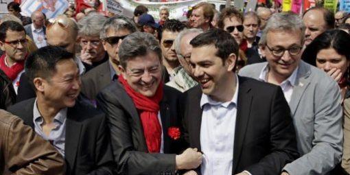 """Résultat de recherche d'images pour """"tsipras melenchon"""""""