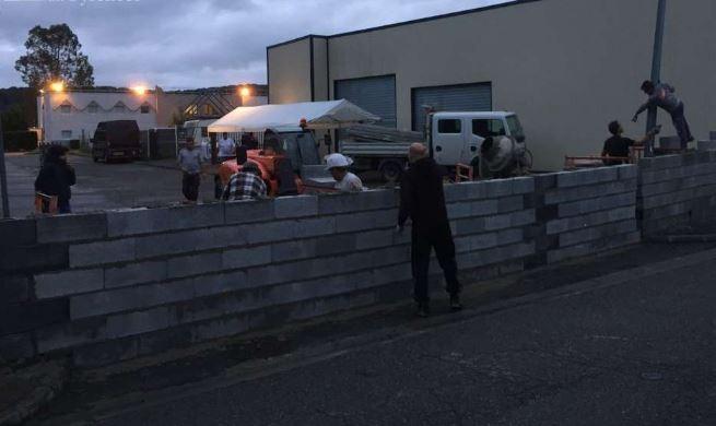 Hautes-Pyrénées : des résistants construisent un mur pour stopper les envahisseurs