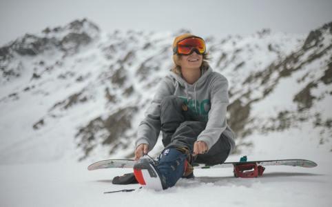 winter blues, snowboard