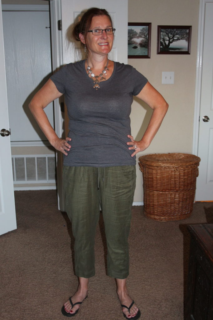 Stitch Fix Review Number One|Ripped Jeans and Bifocals