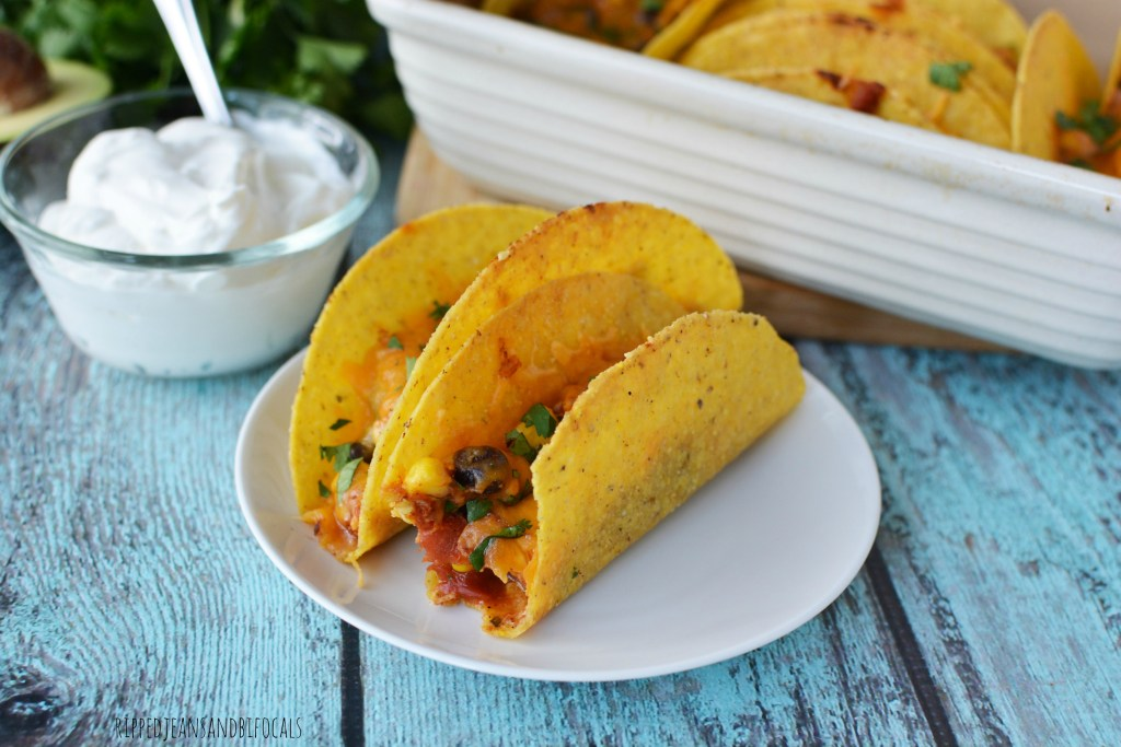 Baked Chicken Tacos|Ripped Jeans and Bifocals