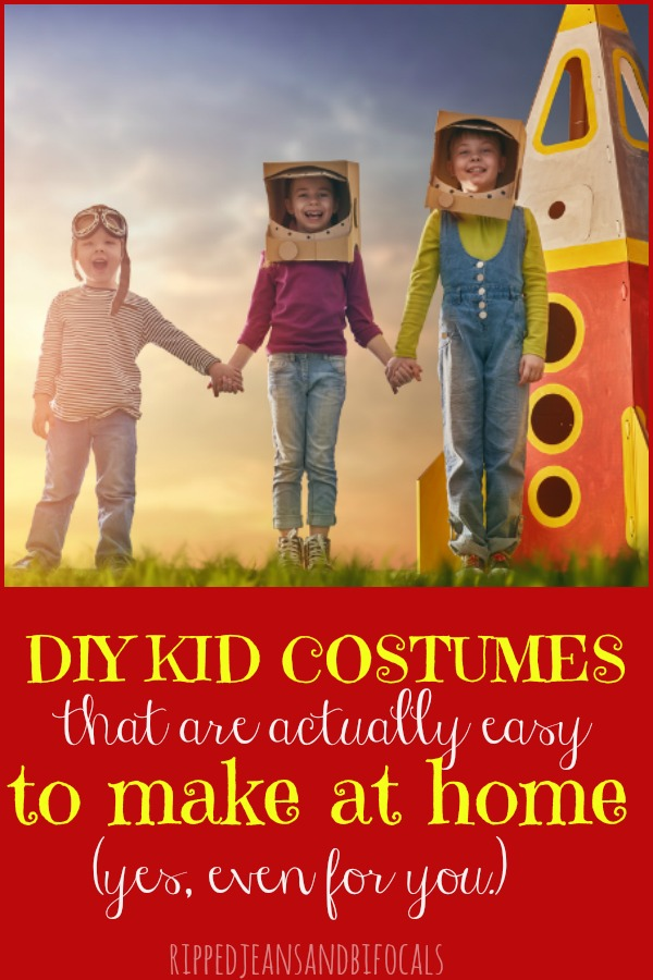 Family Costumes you can make at home easy DIY