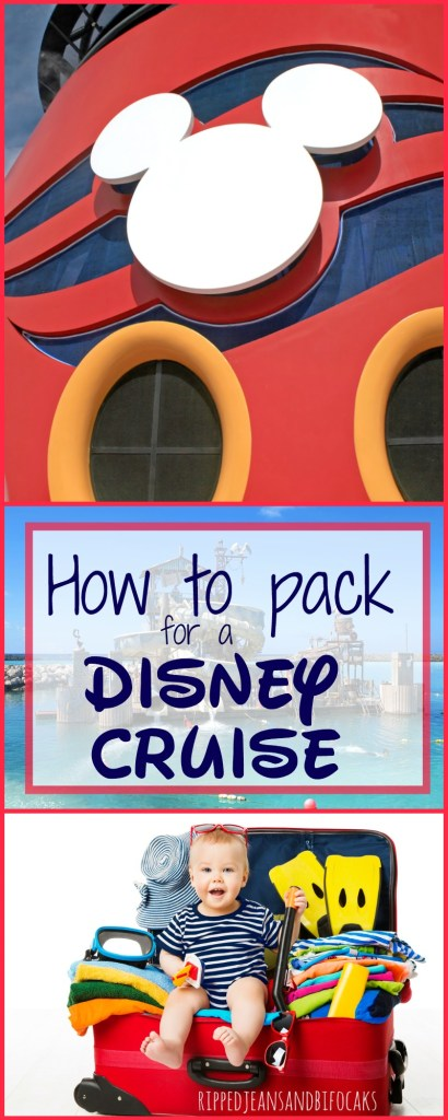 Are you going on a Disney Cruise? Awesome. If you've got questions on how to pack for a Disney Cruise, I've got you covered. Enjoy my ultimate Disney Cruise packing list|Ripped Jeans and Bifocals