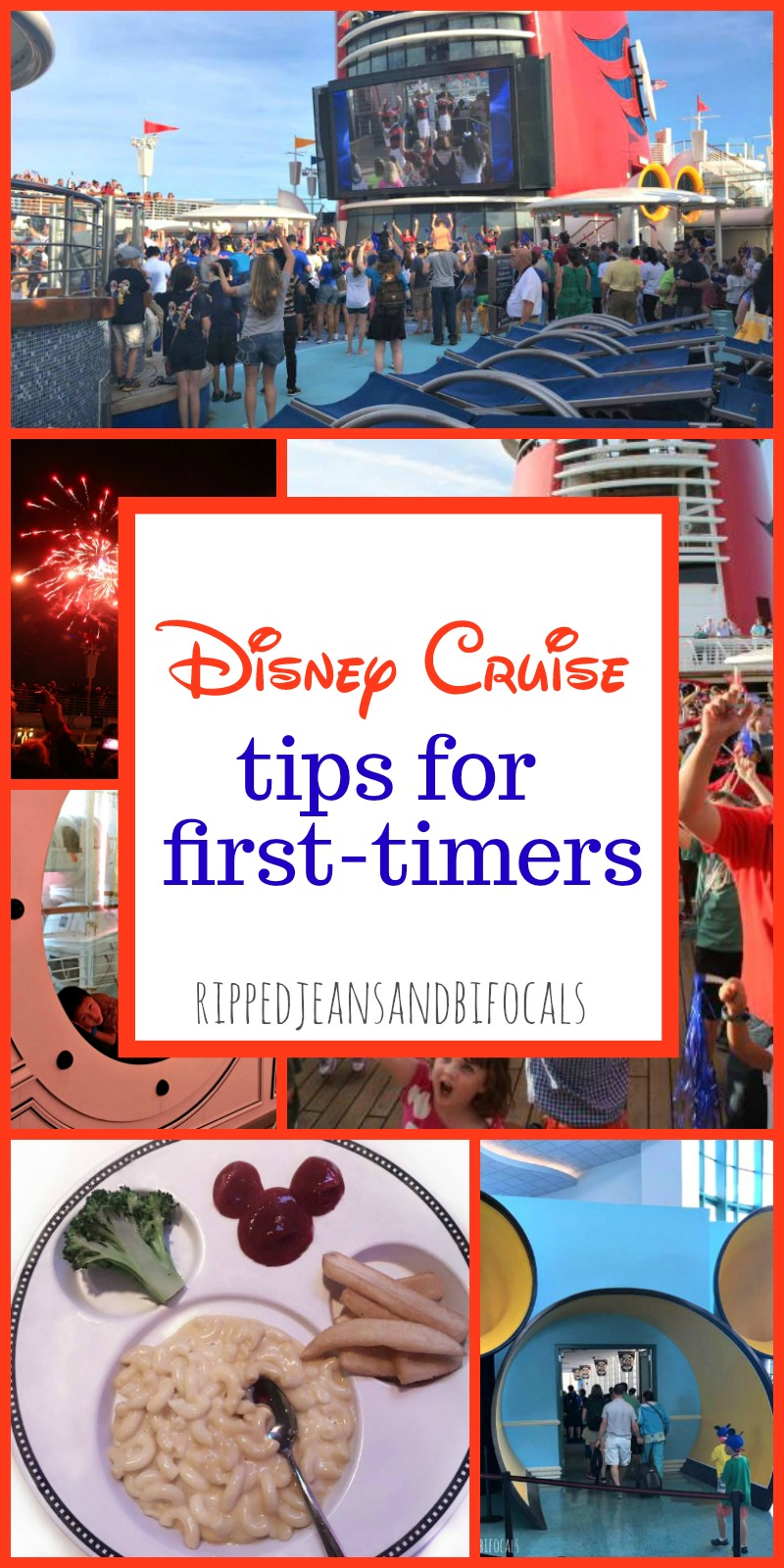 Disney Cruise Tips for First Timers...if you have questions, this is the place to start!|Ripped Jeans and Bifocals