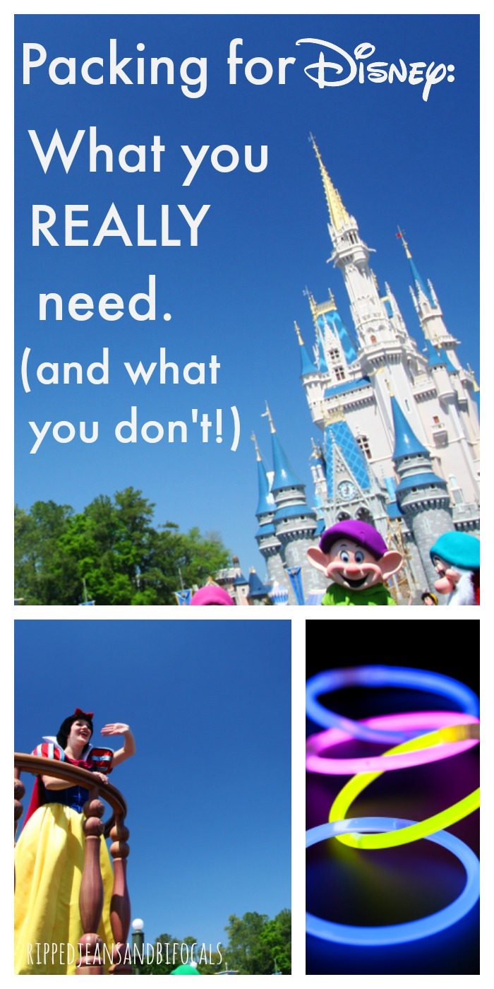 Packing for Disney - Tips from a Travel Agent|Ripped Jeans and Bifocals