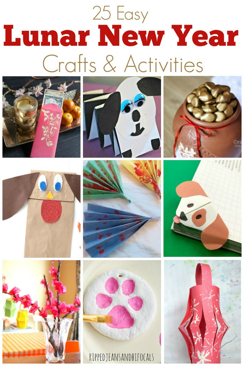 If you're looking for fun and easy Lunar New Year crafts and activities for kids, I've got you covered!|RippedJeansAndBifocals