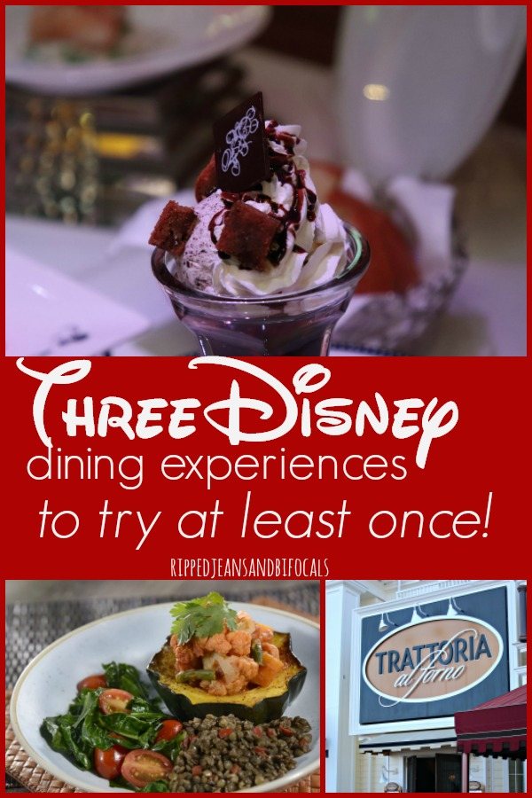 Three Disney Dining Experiences to Try at Least Once