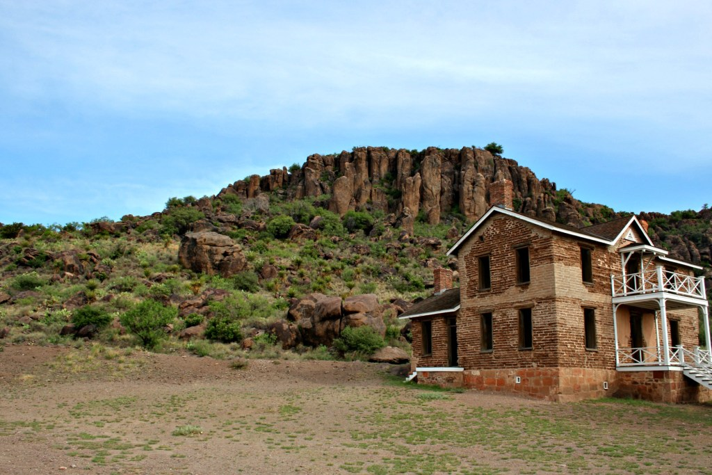 Fort Davis is one of the fun things to do in Marfa and Alpine Texas