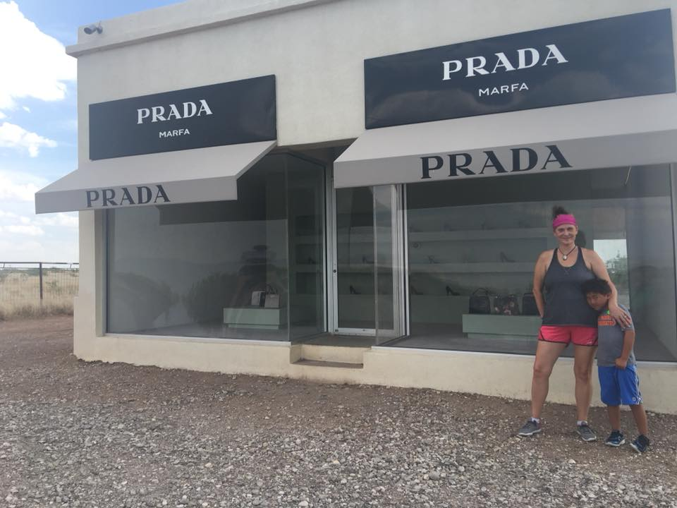 Getting your picture in front of Prada Marfa is one of the things to do in Marfa and Alpine Texas