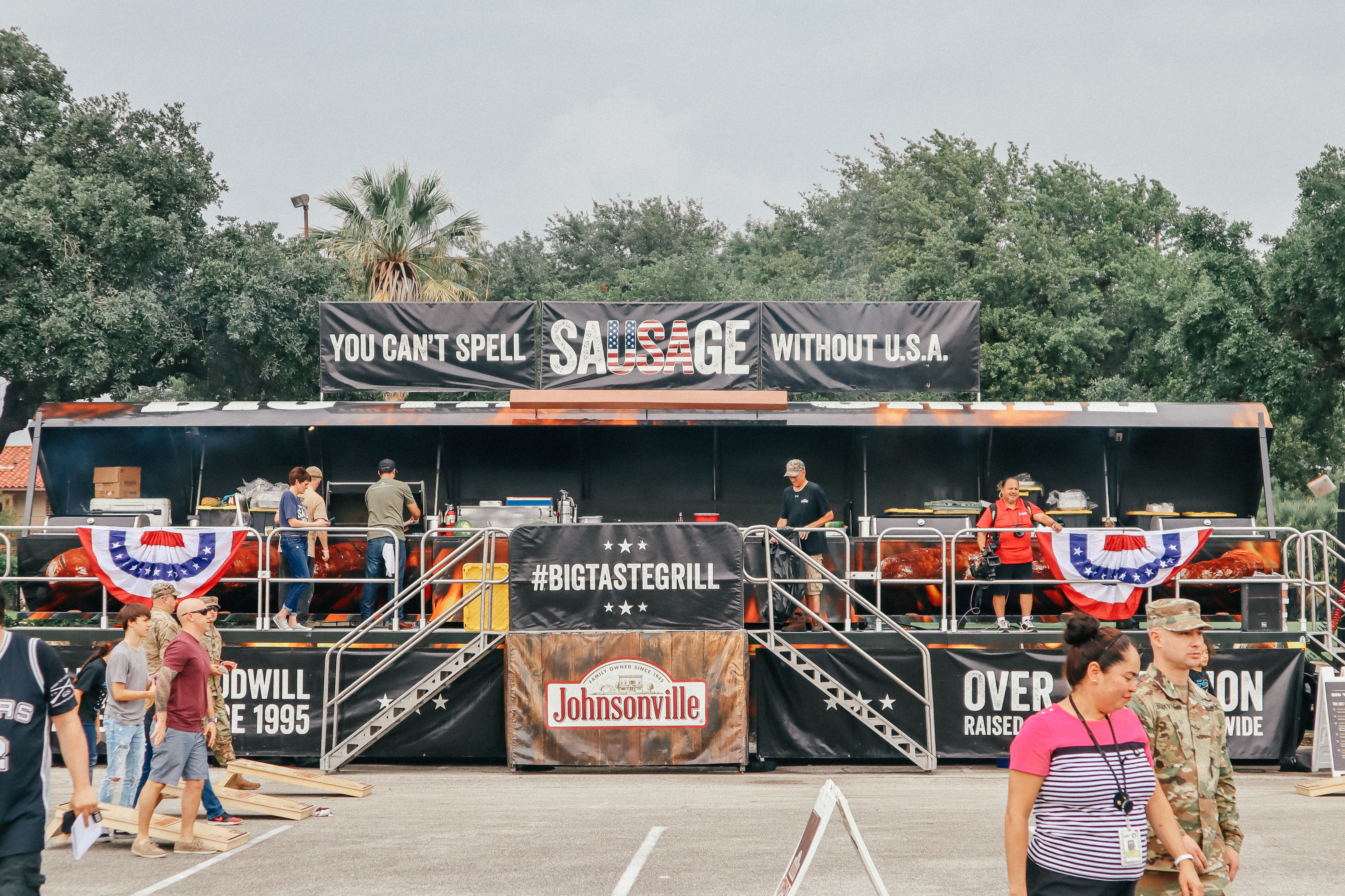 Military Spouse Appreciation with Johnsonville