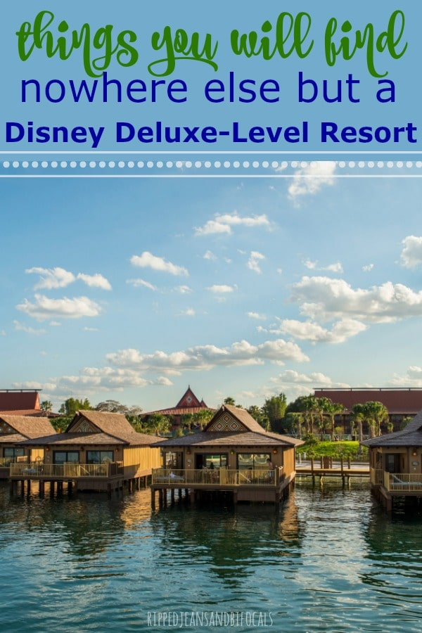 Deluxe Resort Experiences at Disney World