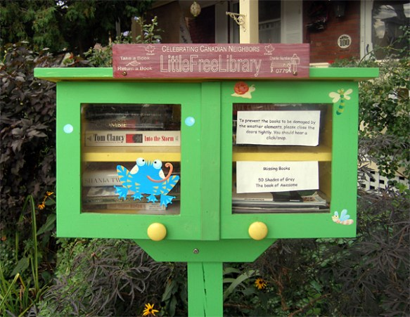 Little Free Library example