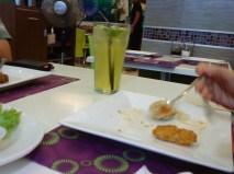 Mint and Lemongrass juice