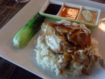 Hainanese Chicken Rice Boneless - P250