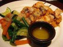 Shrimp and Salmon Skewer - P420