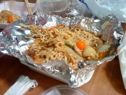 Yummy birthday noodles!