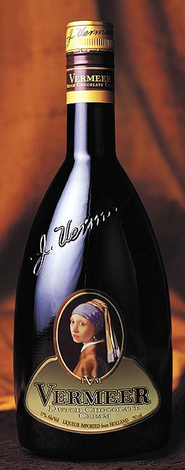 Vermeer inspired Dutch Chocolate Cream Liquer