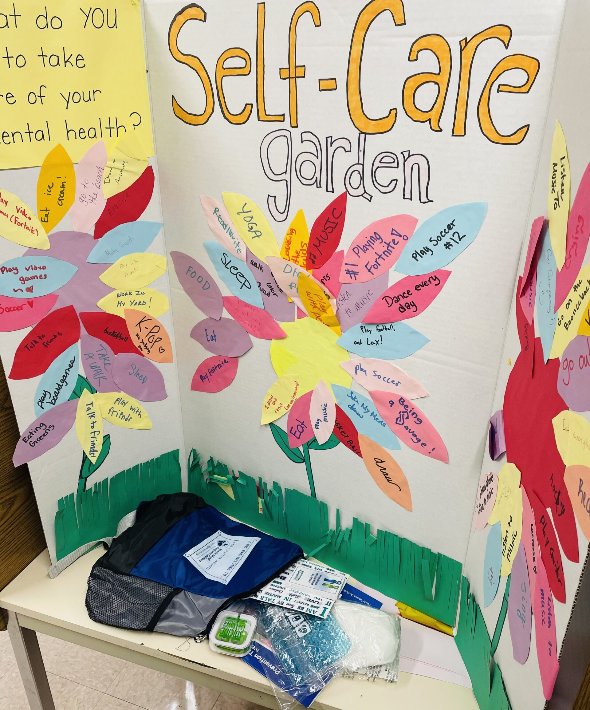 Self Care with Student Assistance Counselors!