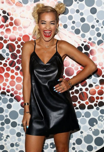 Rita Ora at Paper Magazine's Beautiful People party in New York on April 25, 2014