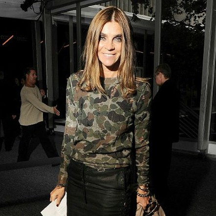 In Pictures Carine Roitfelds Fashion Week Style Round Up