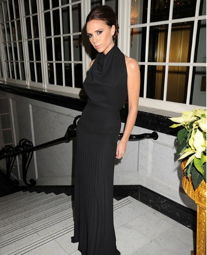 Victoria Beckham wins Designer Brand of the Year at the 2011 British Fashion Awards.
