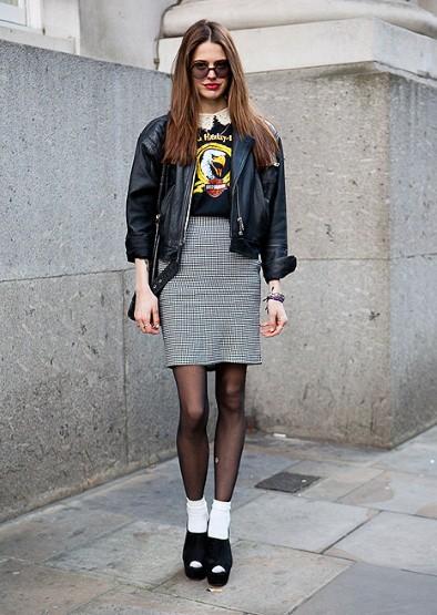 London Fashion Week Autumnwinter 2012 Street Style