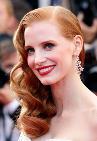 Jessica Chastain Announced As The Face Of Yves Saint