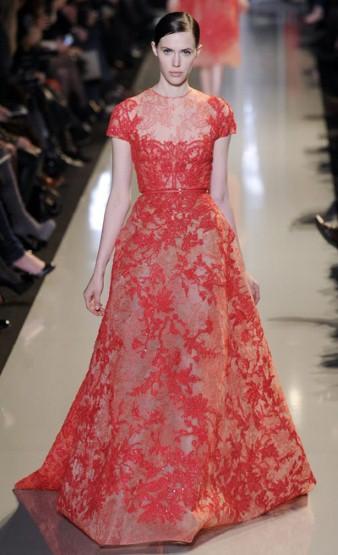 Paris Haute Couture Elie Saab Springsummer 2013 In
