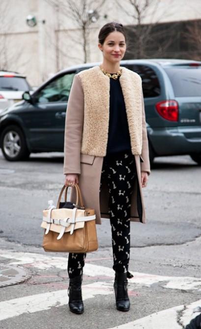 New York Fashion Week Shocker Fashionistas Dress Warmly