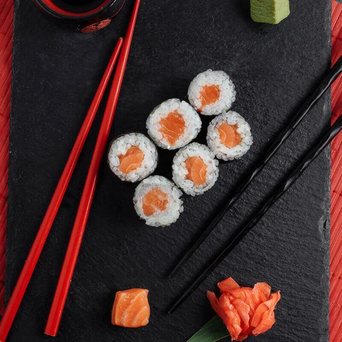 Маки Суши лосось