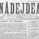 """Noi dezvăluiri privind întemeierea ziarelor """"Opinca"""" și """"Nădejdea"""""""
